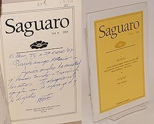 Saguaro; vol. 8, 1993: Tatum, Charles, editor, Roberto Perezdi?z, Pilar Rodr?guez, Susan Elizondo, ...