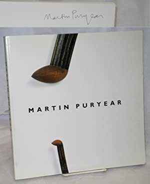 Martin Puryear by Neal Benezra, with an essay by Robert Storr: Benezra, Neal, Robert Storr [and ...