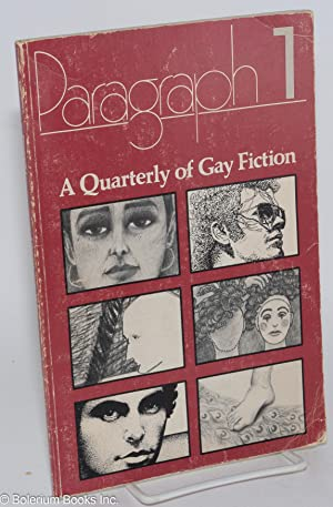 Paragraph 1; a quarterly of gay fiction: Diamen, N. A., editor, Jane Alden, Richard Hall, Chip ...