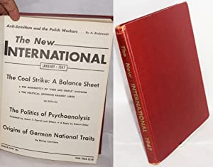 The New International; a monthly organ of revolutionary Marxism. Volume 13, January 1947 to ...