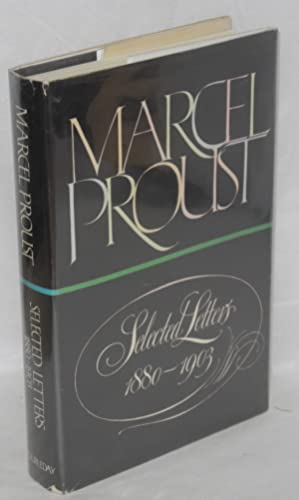 Selected letters 1880-1903: Proust, Marcel, edited