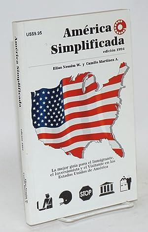 """America simplificada; edici?n 1994 [cover subtitle: """"La: Nessim, Elias y"""