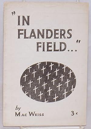 In Flanders Field: Weiss, Max