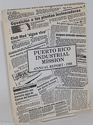 Puerto Rico Industrial Mission Annual Report - 1988