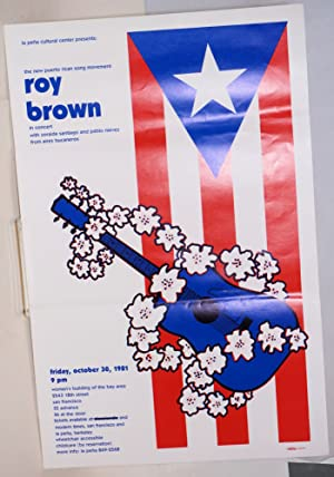 The new Puerto Rican song movement / Roy Brown in concert; with Zoraida Santiago and Pablo Nieves...