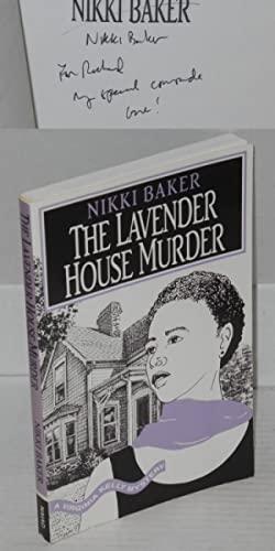 The lavender house murder; a Virginia Kelly mystery: Baker, Nikki