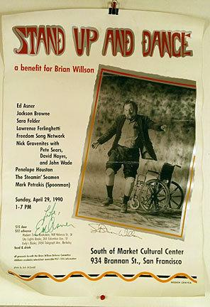 Stand up and dance; a benefit for Brian Willson, Sunday April 29th, 1990, South of Market Cultura...