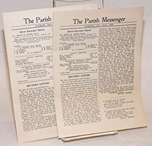 The Parish Messenger: March & July,1928 [two issues]