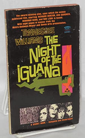 The Night Of Iguana Williams Tennessee