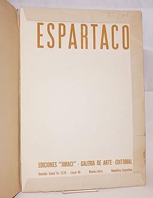 Espartaco: 8 Xilografias: Grupo Espartaco