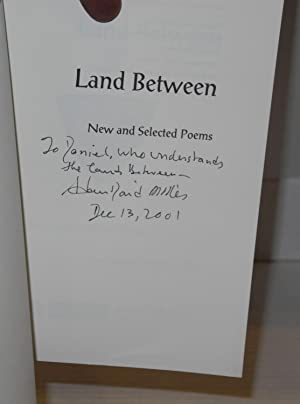 Land between; new and selected poems: Miller, Adam David