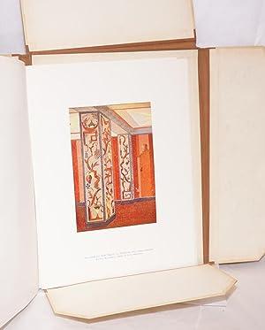 Farbige raume;; 40 blatt, handwerklidcher Kunst, darunter 37 Farbige Tafeln Gesammelt aus der ...
