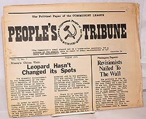 People's tribune. The political paper of the Communist League. Vol. 3, no. 7, August 1971: ...