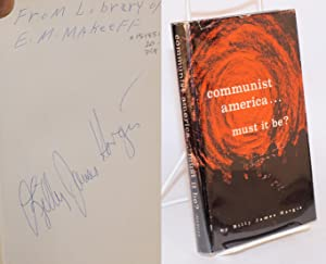 Communist America must it be: Hargis, Billy James, D.D.