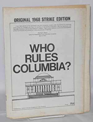 Who rules Columbia