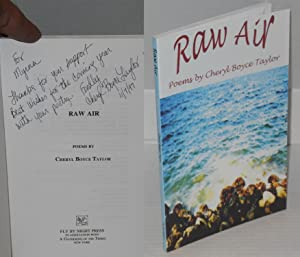 Raw air; poems: Taylor, Cheryl Boyce