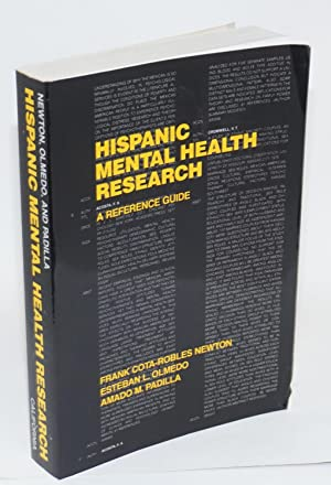 Hispanic mental health research: a reference guide