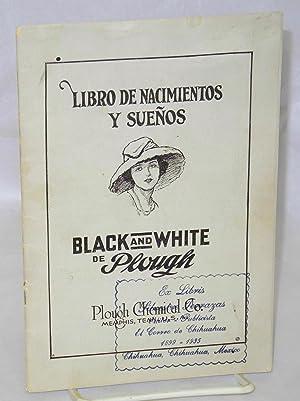 Libro de nacimientos y sue?os; black and white de Plough