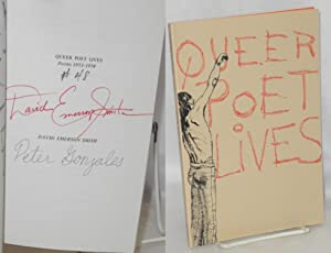 Queer poet lives; poems 1973-1978: Smith, David Emerson, illustrated by Peter Gonzales