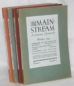Mainstream, a literary quarterly. Vol. 1, no. 1, Winter,1947 to vol. 1, no. 4, Fall, 1947: Sillen, ...