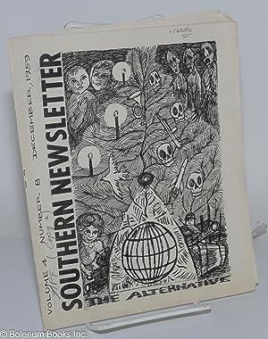 Southern Newsletter The Alternative, Volume 4, number 8, December 1959: Feldman, Eugene, ed.]