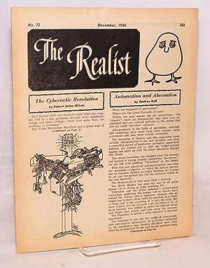 The realist [no.72];: Krassner, Paul, editor