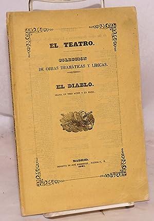 El Diablo: drama en tres actos, arreglado del Frances: Rinchan, Don Alejandro