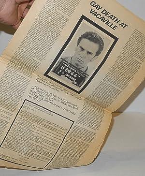 Gay Sunshine; a newspaper of gay liberation, #12 April 1972: Leyland, Winston, editor, harold Norse...