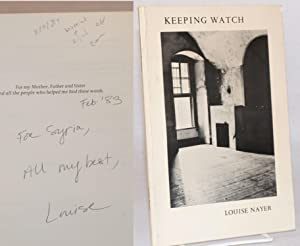 Keeping watch: Nayer, Louise B.