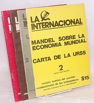 La internacional: revista te?rica del Partido Revolucionario de los Trabajadores (Secci?n Mexicana ...