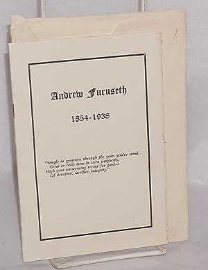 Andrew Furuseth, 1854-1938: Furuseth, Andrew]