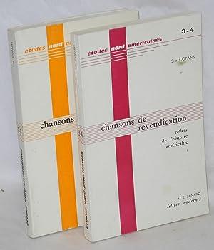 Chansons de revendication, reflets de l'histoire am?ricaine, [vols. 1 & 2]: Copans, Sim