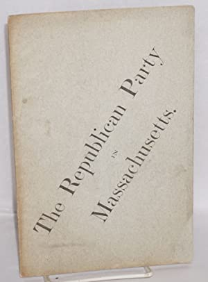 The Republican Party in Massachusetts: Hoar, George Frisbie
