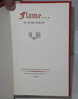 Flame .: Bassett, William Burnet Kinney [as Peter Darien]