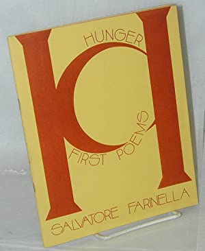 Road Apple Review; vol. iv, no. 3, Hunger: first poems A special issue, Fall 1972