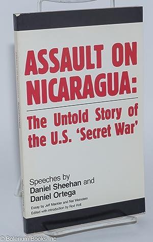 Assault on Nicaragua: the untold story of: Sheehan, Daniel, Daniel