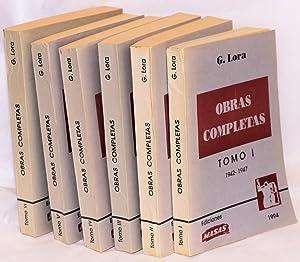 Obreras Completas, Tomo I - Tomo VI: Lora, Guillermo