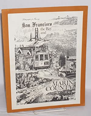 Lithographs for framing, San Francisco the Bay and Marin County