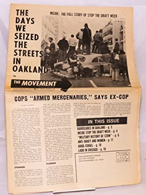 The movement, affiliated with SNCC and SDS. Vol. 3, no. 11, November 1967