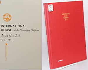 International House.at the University of California initial year book 1930 - 1931