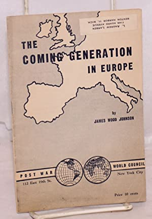 The coming generation in Europe, second printing