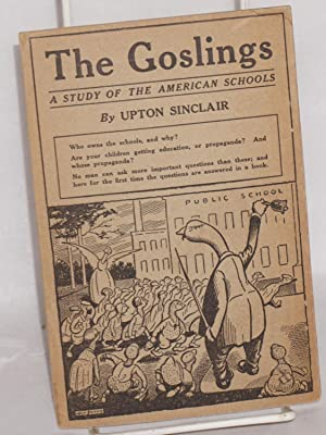 """The schools of Los Angeles This pamphlet contains the first 64 pages of """"The Goslings: a study..."""