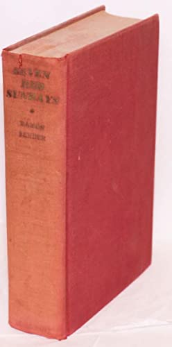 Seven red Sundays; translated from the Spanish by Sir Peter Chalmers Mitchell: Sender, Ram?n J.