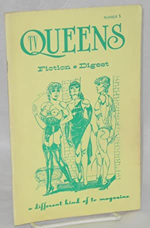 TV queens: fiction digest, number 5, Steward-dress: Betticut, Timonthy Reisling, cover by Gene ...