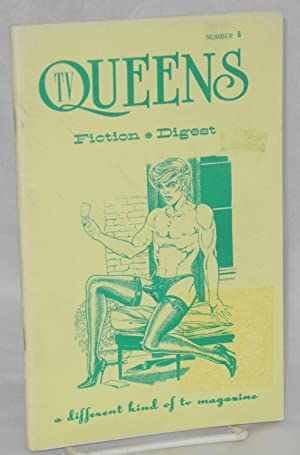 TV queens: fiction digest, number 6, The: anonymous, cover by