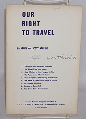 Our right to travel