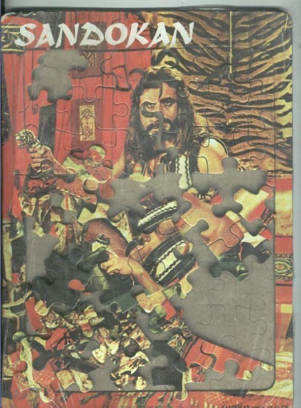 Puzzle piezas de carton de Sandokan Heroe de la TV Varios Hardcover