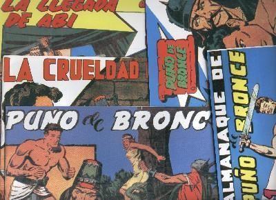Puño de Bronce, coleccion facsimil Luis Molina