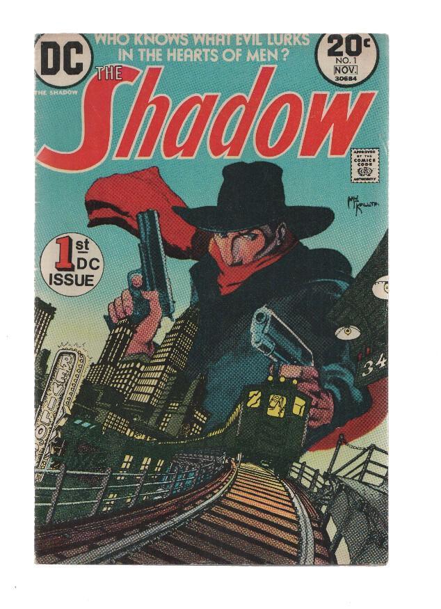 THE SHADOW, Volume 1, Numero 01: The Doom Puzzle! (DC 1973) Denny O'Neil