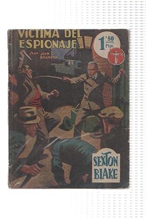 La novela aventura: Sexton Blake: Victima del: John C. Brandon